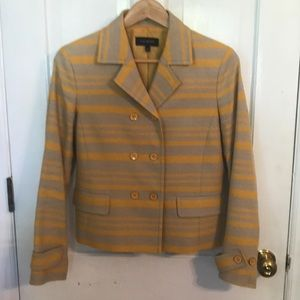 Talbots Gold/Yellow double breasted jacket